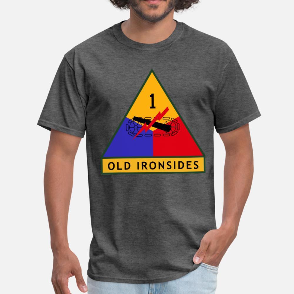 color sólido de la moda primera división blindada con nosotros hombres de la camiseta personalizada camiseta S-XXXL loco camisa del estilo del verano de Kawaii