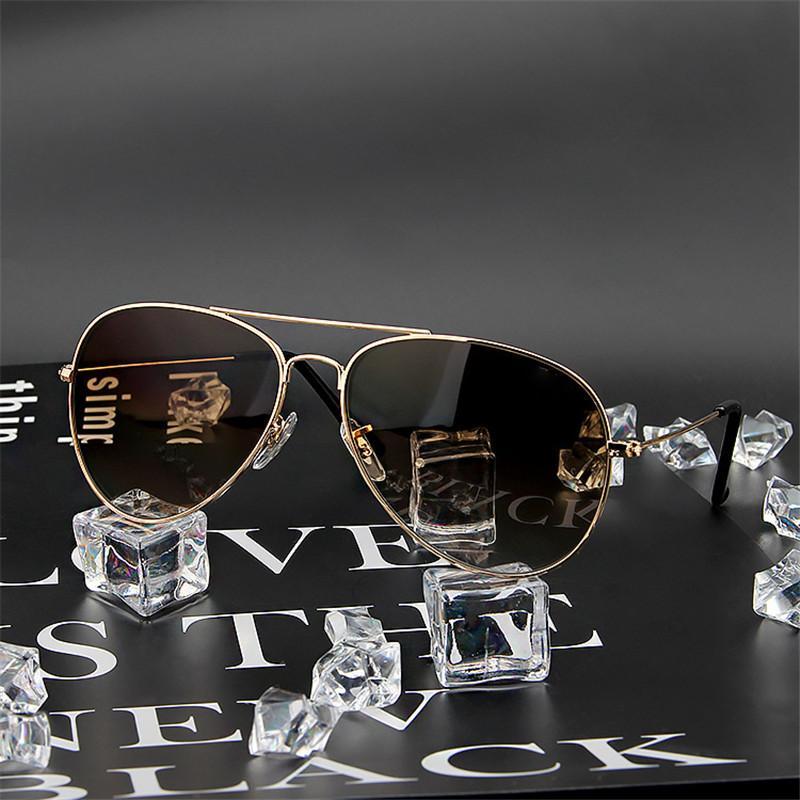 Vazrobe óculos de sol de vidro Homens Mulheres G15 Brown Pedra lente anti zero pesado Sun Óculos para o Homem Espelho Lens