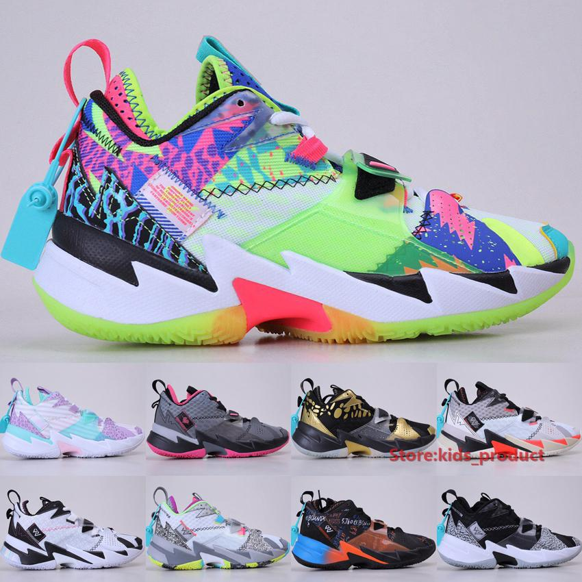 Air Jordan Why Not Zer0.3 LA Born Zapatillas de baloncesto 2020 Jumpman Russell Zapatillas Splash Zone UNITE Hearbeat Noise Hombres Mujeres Zapatillas de deporte Tamaño 36-46