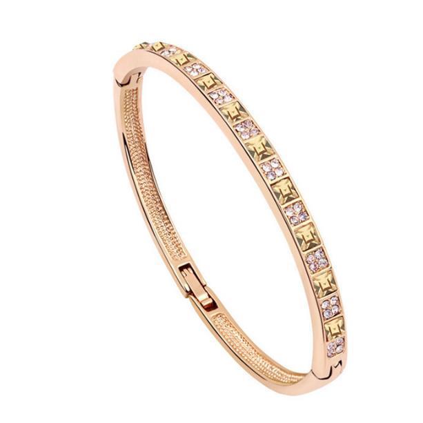 Sun luna e le stelle - gioielli in cristallo braccialetto gioielli moda materiale della lega per le donne braccialetto di cristallo processo di trattamento