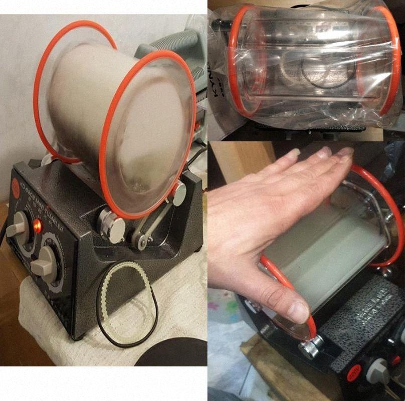 110v 220v Оптовая 3Kg Rotary массажер ювелирных изделий Полировщик финишер, ювелирные изделия Полировка оборудование nC9o #