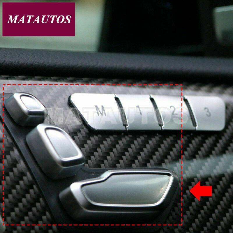 Seat Adjust autocollant Bouton pour Mercedes Benz A B C Classe E GLA CLA GLE ML GL GLS