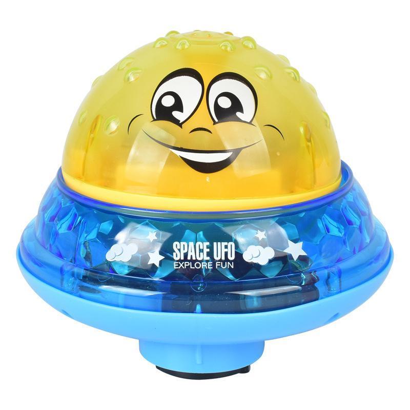 Crianças Rotate Água Brinquedos Bola Bath com spray infantil Música Luz Led elétrica Piscina Indução de extinção Para ELSxK mylovethome