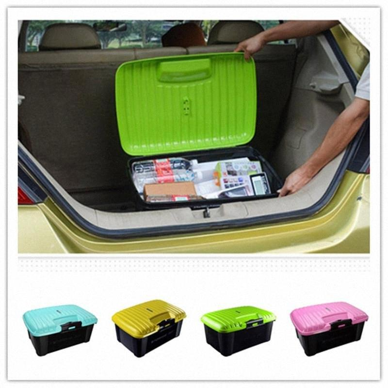 Araba Trunk Organizer Kutu Saklama Kutusu Otomatik Çöp Aracı Çanta Büyük Kargo Depolama İstifleme toplama Araç Aksesuarları lTLh #
