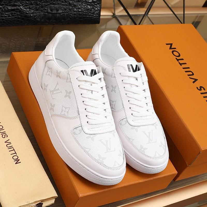 Rivoli Sneaker Erkek Ayakkabı Hafif Tasarımcı Lüks Sneakers İçin Erkekler Chaussures Hommes Kuitixm Vintage Artı boyutu Retro Erkek Ayakkabı dökün