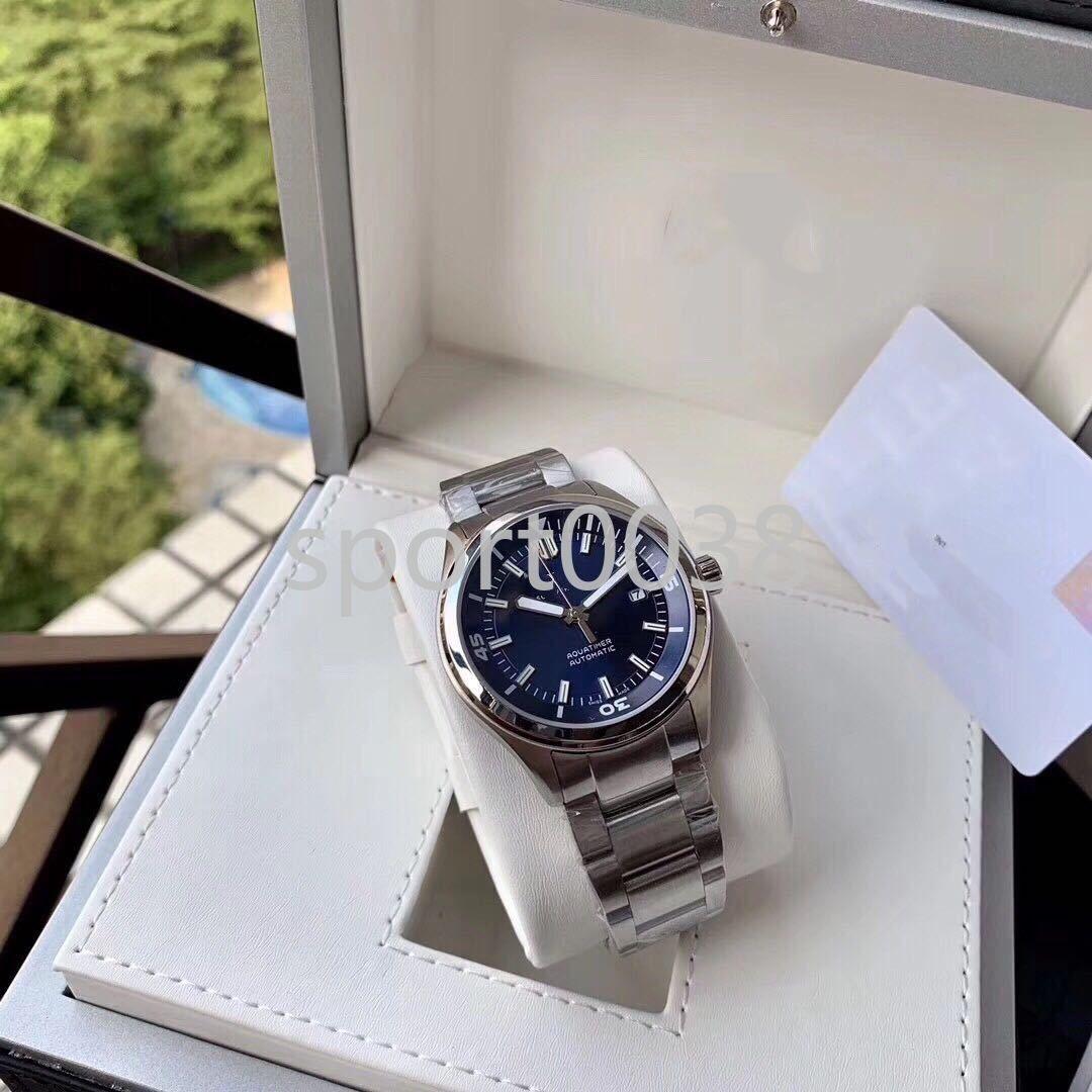 Aqua Familie, iw329005, automatische Maschine, Edelstahl-Band-Uhr