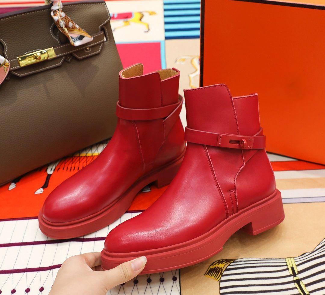 Hermes 2020 حار بيع تصميم جديد أحذية رياضية H عالية أعلى عارضة مريحة حذاء مسطح أزياء السيدات العالية أعلى أحذية جلد البقر الأزياء فارس الأحذية