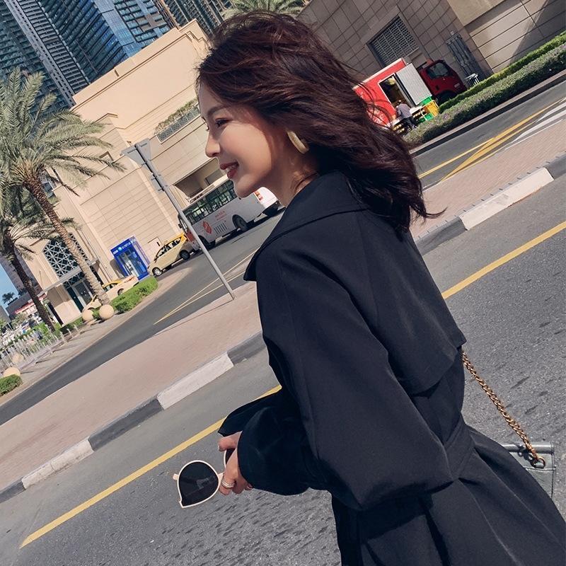 PmlIh 8yaHh WINDBREAKER küçük Orta uzunlukta Koreli popüler ilkbahar ve sonbahar WINDBREAKER 2020 yeni ceket sonbahar giyim Kadın kadın giyim
