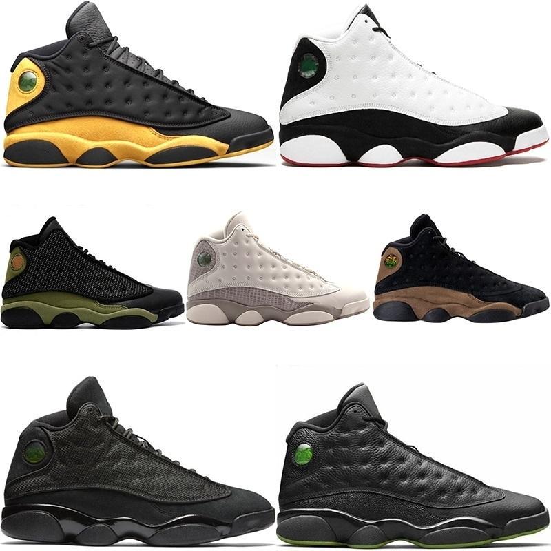 Hommes Chaussures de basket-13s He Got Jeu de classe 2003 Altitude Hyper Royale Italie Bleu Bred Sport Traine NakeskinJordanretros Chaussures
