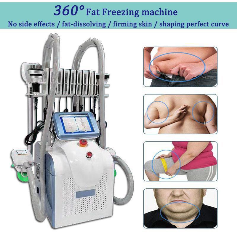 machines de perte de poids de gel graisse cavitation machine à vide rf 7 en 1 machine LipoLaser 360 machine portative cryolipolysis livraison gratuite