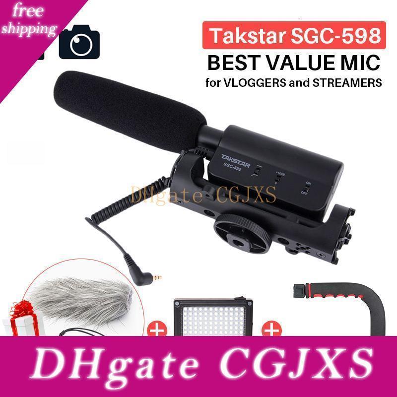 Takstar Sgc -598 Photography Interview Shotgun Mic Microphone For Nikon Canon Dslr Camera Dv Camcorder For Vloggers /Videomaker T191021