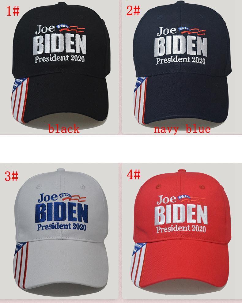 Joe Biden gorra de béisbol para el presidente 2020 EE.UU. elecciones sol verano al aire libre unisex sombreros letra gorra de béisbol del bordado FFA4072-1