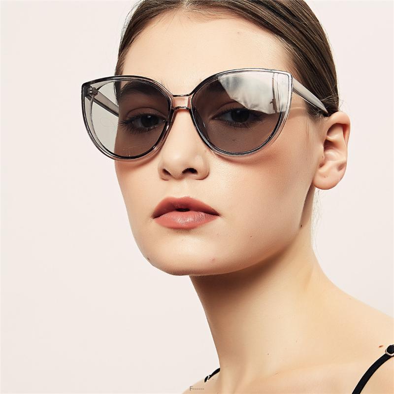 2020 Mode-Rund Männer Sonnenbrille Süßigkeit-Farben-Objektiv klare orangefarbene Brillen-Marken-Entwerfer Frauen Sun-Glas-Farbton UV400 FML