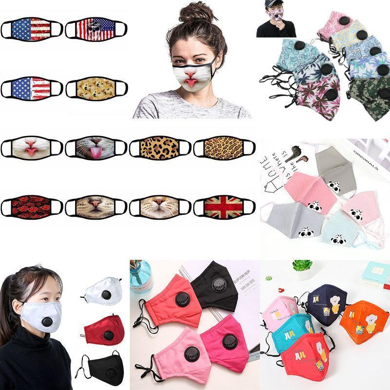Бесплатная доставка DHL Дыхательного Valve Anti Dust маски для лица Складного без клапана Защитного пыле PM2.5 маски для лица