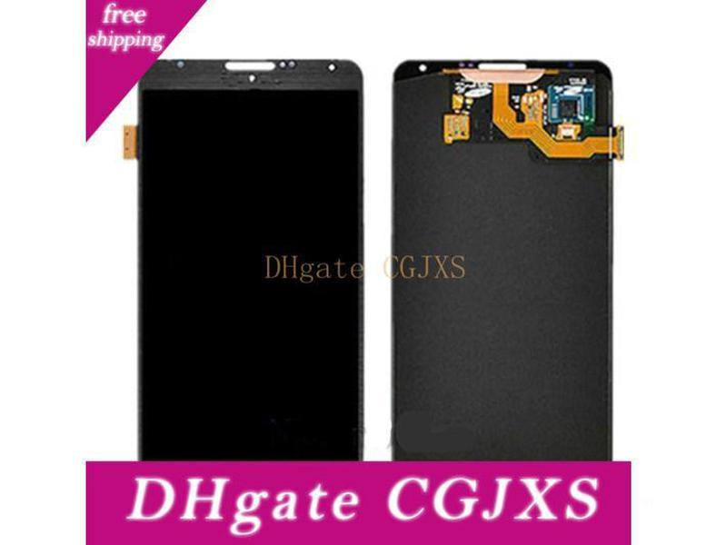 White And Grey Note3 Lcd Display For For Samsung Galaxy Note 3 N9000 N9002 N9005 N9006 N9008 Lcd With Touch Screen Assembly