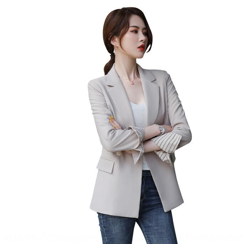 otoño de las Uw8GW K0019 Dongdaemun mujeres y un gran juego del invierno de las mujeres sueltan la capa Escudo traje nuevo