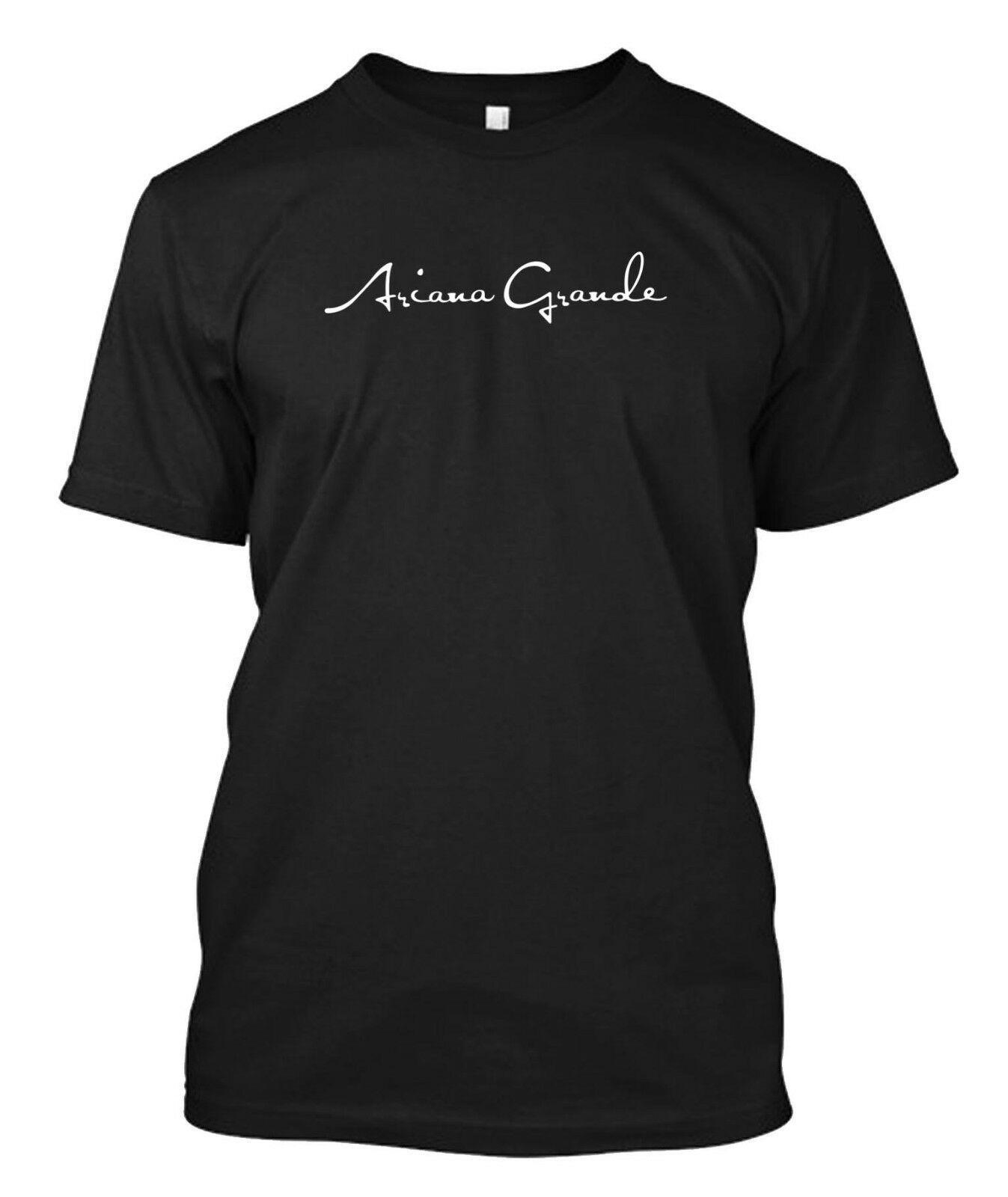 Ariana Grande Arianator t-shirt Dangerous Tee maglietta del O-Collo estate di personalità Moda Uomo T-shirt