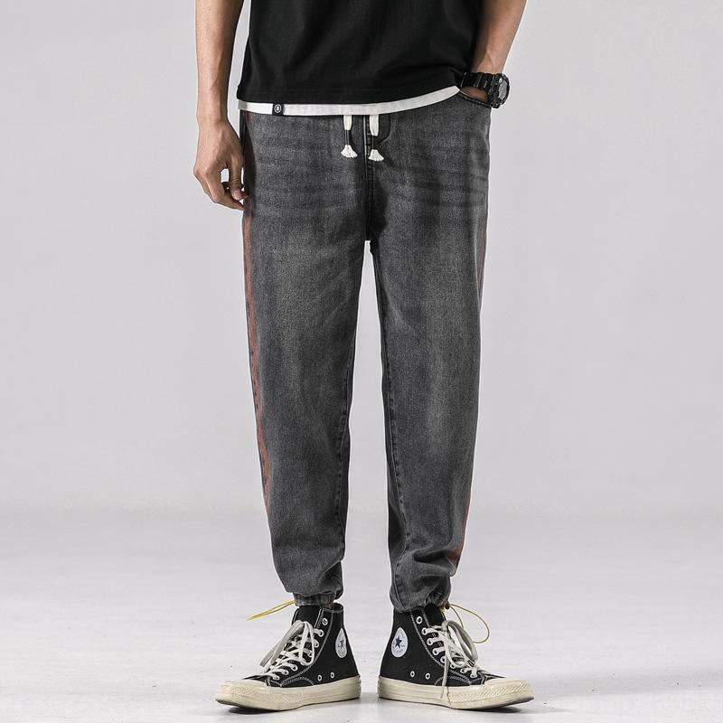 qnMP5 G9mTL 2020 Jeans e pantaloni autunno nuova tuta allentata tuta casuale degli uomini di modo allentato uomini diritti dei jeans di moda Inverno tutto-fiammifero