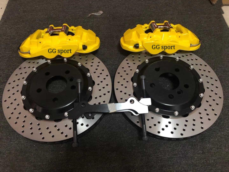 designer Big Brake Kit 6-Piston Caliper 2-Piece Forged Caliper with 380x28mm Rotor ForBMW 228i M-Sport F22 2015 19inch Wheel