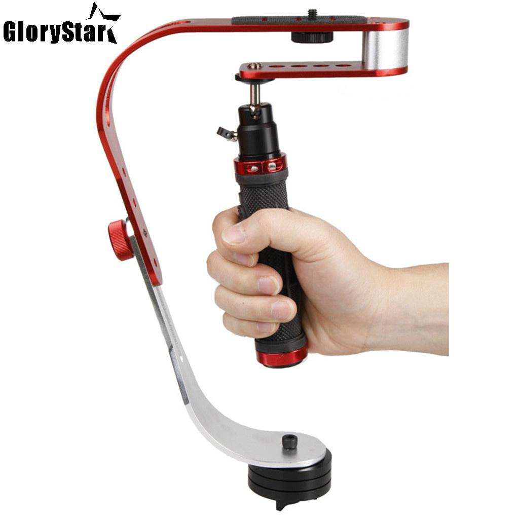 Video Handheld Stabilizer for Gopro DV Camera & Camcorder with Cell Phone Holder and 1/4\ Tripod Adaptor