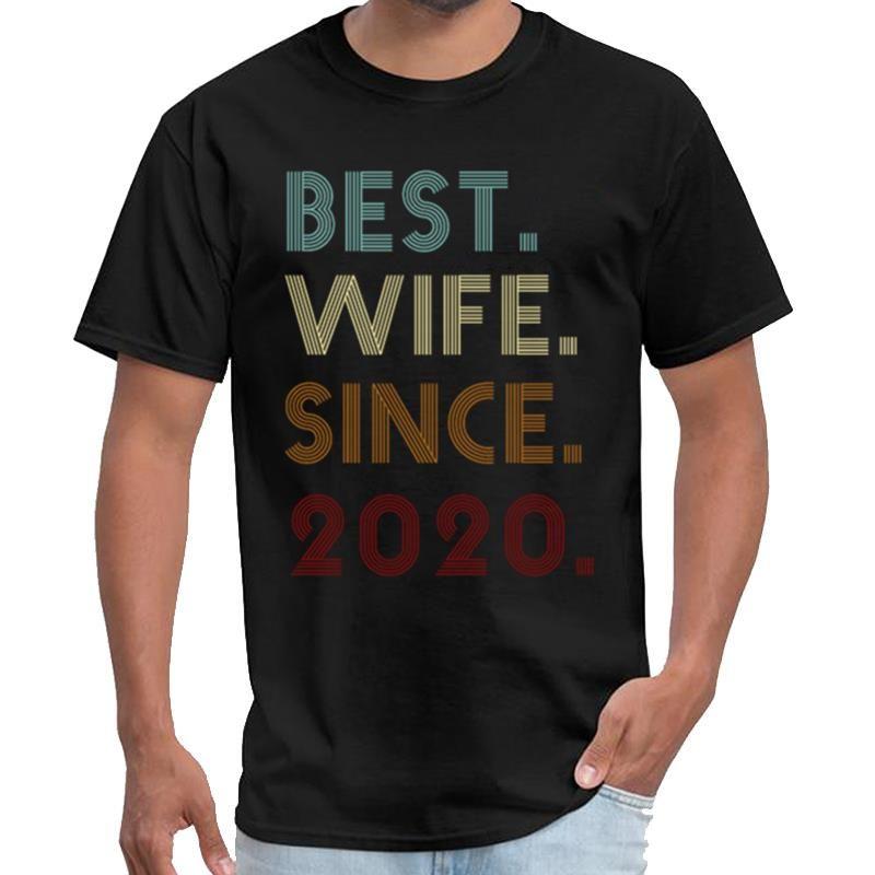 Moda Mejor esposa desde 2020 camiseta hombres y mujeres 3d tee camiseta superior de gran tamaño ~ s 5xL hiphop