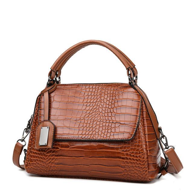 le donne modello in pelle di coccodrillo borsa Borse PU spalla di alta qualità delle donne di sacchetti crossbody per le donne tote bag sac femme principale