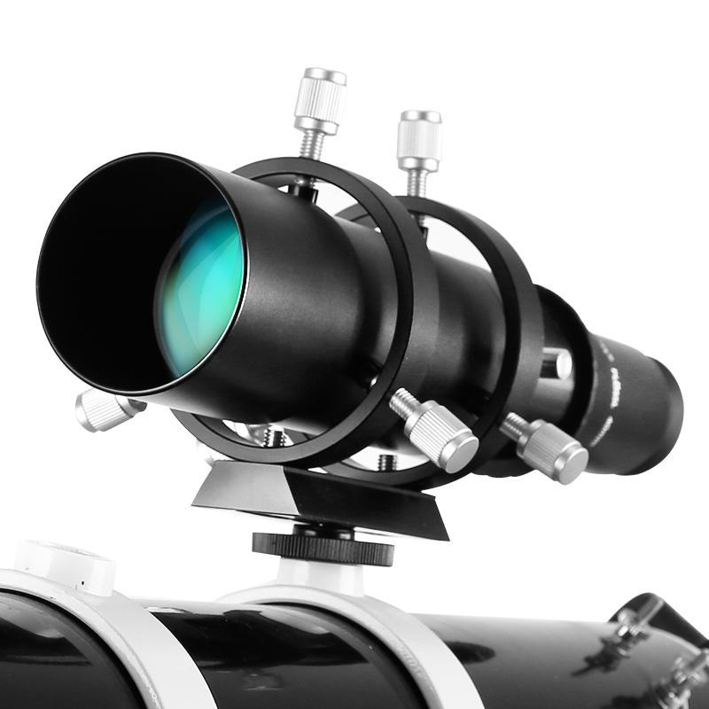 """50 mm Guide Portée entièrement Coated Guidescope Oculaire avec support 1.25"""" Accessoires pour télescopes"""