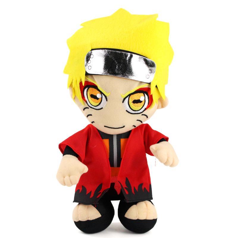 36cm Cartoon Anime Naruto Uzumaki Naruto Plüsch-Spielzeug-weiche füllte Plüsch-Puppen-Geschenk für Kinder Kinder