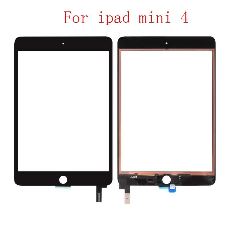 Cgjxs 15pcs For Ipad Mini 4 4th Gen 7 .9 A1538 A1550 Digitizer Touch Screen Panel With Ic Chip Connector Sticker