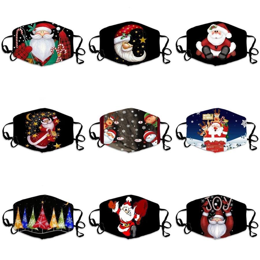 Random Color Printing Staub ProofFace Maske Outdoor Wear Modische Masken # 165