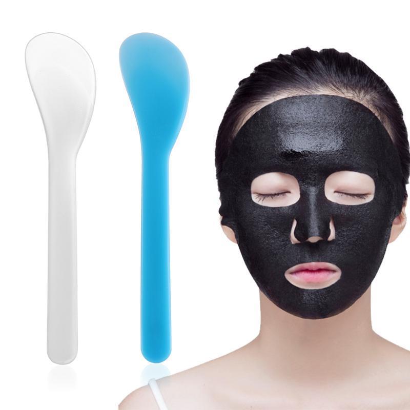 Pennelli per il trucco Maschera viso Maschera Plastica Riutilizzo di FAI DA TE Strumenti di Mix Strumenti cosmetici Scoop Mini Skin Care Tool