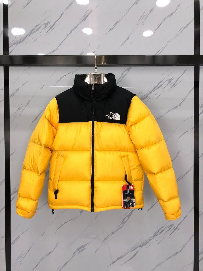 The North Face 1996 NUPTSE High quality reproduction Classic men's and women's down jacket with LOGO blue S-3XL