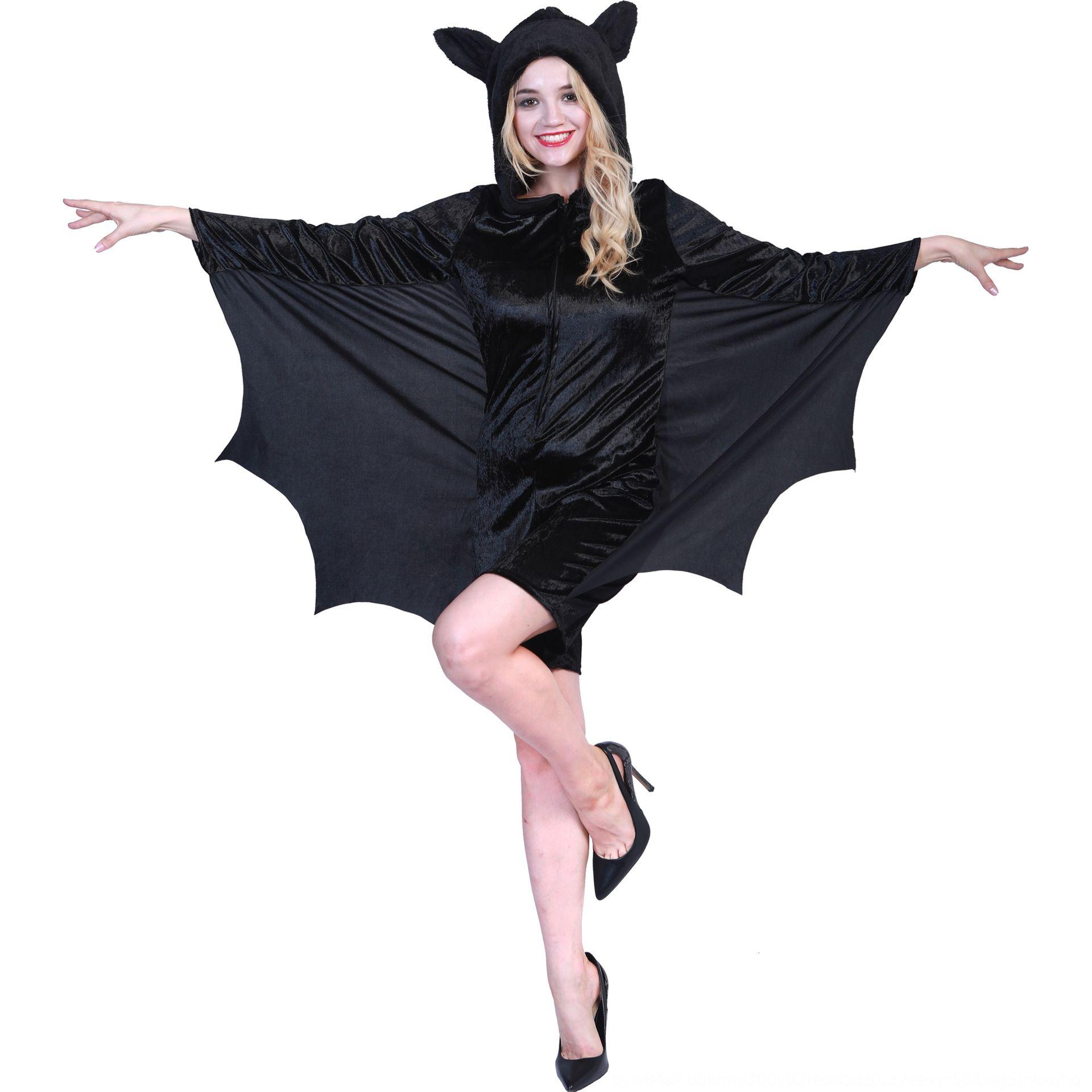La ropa del traje de Halloween estilo de Halloween traje batuta atmósfera de la mujer batuta atmósfera ropa del estilo de las mujeres