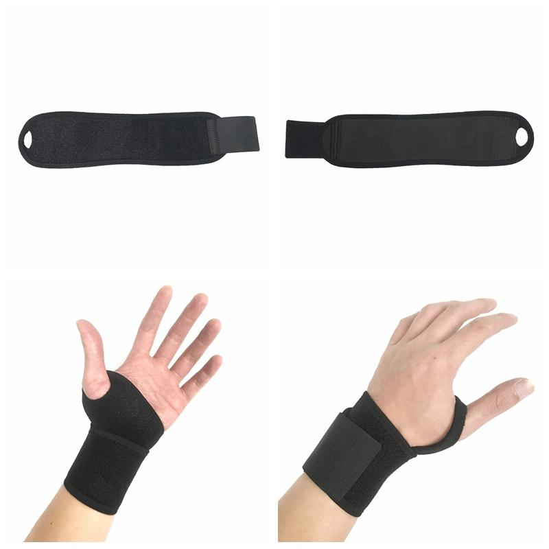 1PC Wrist Guard Band Brace Support Carpal Tunnel Sprains Strain Gym Strap Sports Pain Relief Wrap Bandage lightweighted