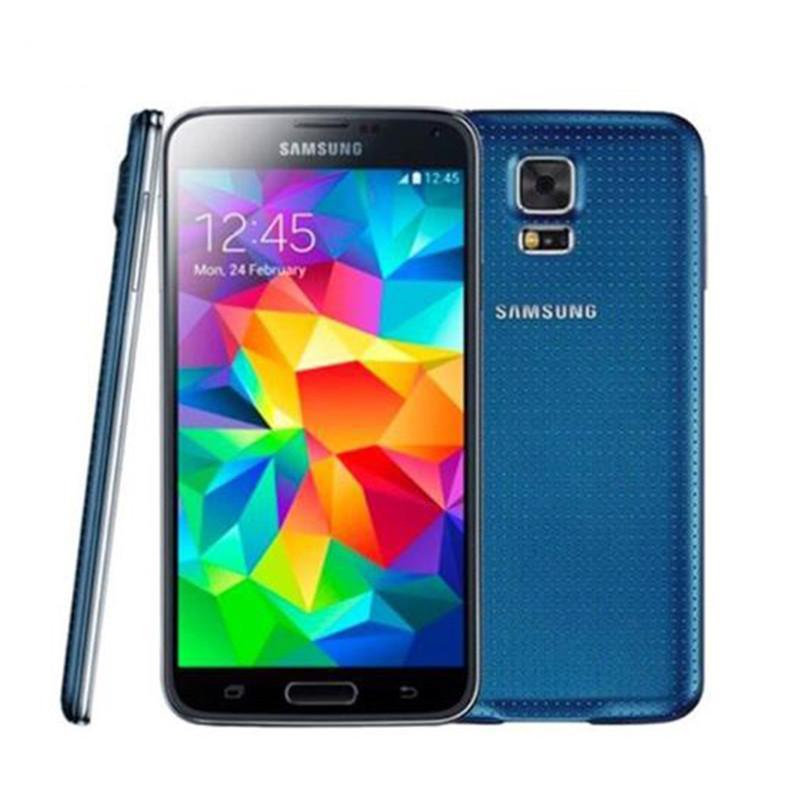 Оригинальный разблокированный Samsung S5 I9600 G900F G900A 5.1INCH 2 ГБ ОЗУ 16 ГБ ROM Quad Core 3G4G 16MP мобильный телефон