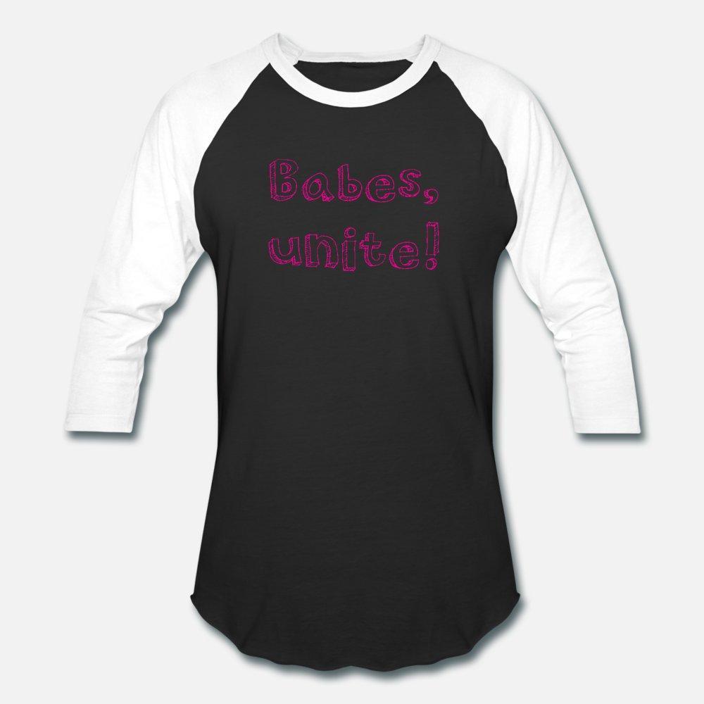 Babes Unite in rosa t shirt uomo Stampa tee shirt Stile convenzionale di estate della camicia del collare rotondo di colore solido di modo fitness