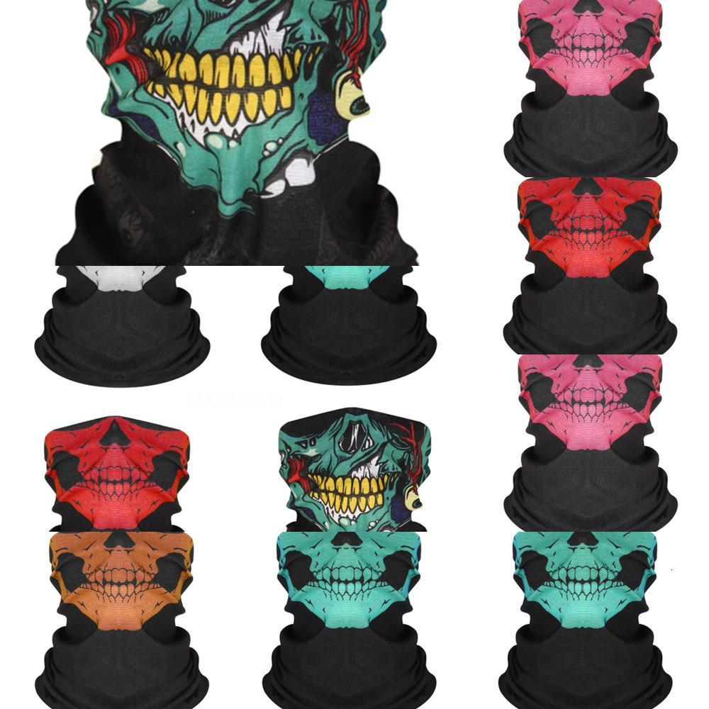 Sport Radfahren Headskull Schal M7lck Magie Fashionflag Masken-Kopf-Hals Schal windundurchlässiges Bandana Camouflag Gesichtsmaske mit Filtere # 977