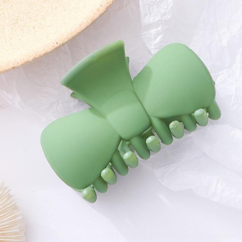 gran cero de gran tamaño estilo coreano horquilla helado sencilla placa de baño de accesorios para el cabello horquilla de cola de caballo tarjeta de clip sujetador de la tarjeta nCrWY