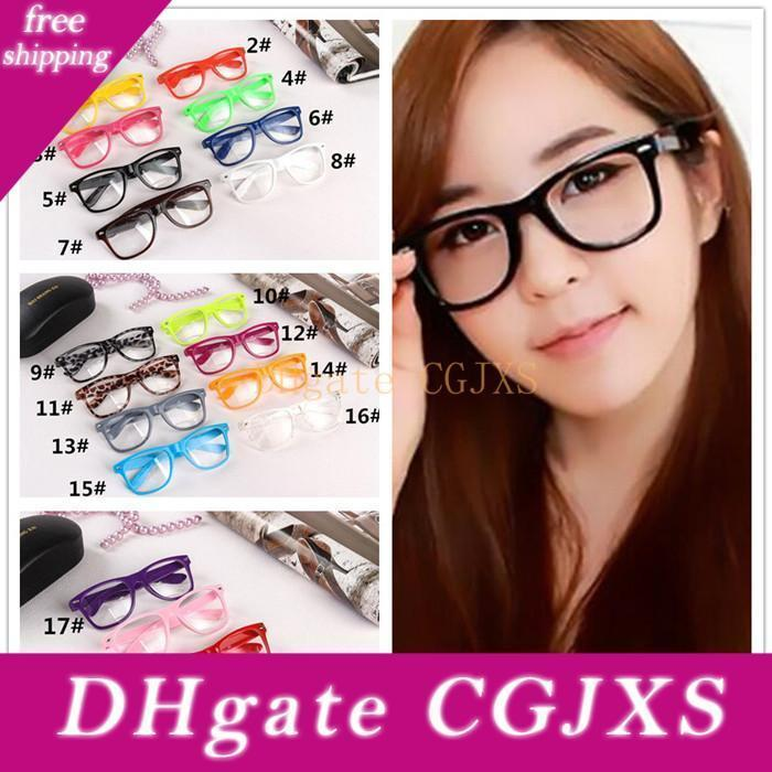 100pcs 19 Süßigkeit färbt Unisex Sonnenbrille Niet Sonnenbrille Retro Farbe Unisexpunk Geek-Art-Raum-Objektiv-Gläser R053