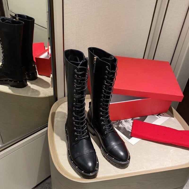 New Outono 2020 web zíper lateral celebridade, robusto, chique, bota locomotiva lace-up, Martin boot, ankle boot moda britânica