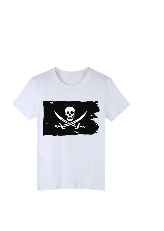 90 * Bandeira de pirata quebrado 150 centímetros Creepy Ragged Older Jolly Roger Skull Cross Bones