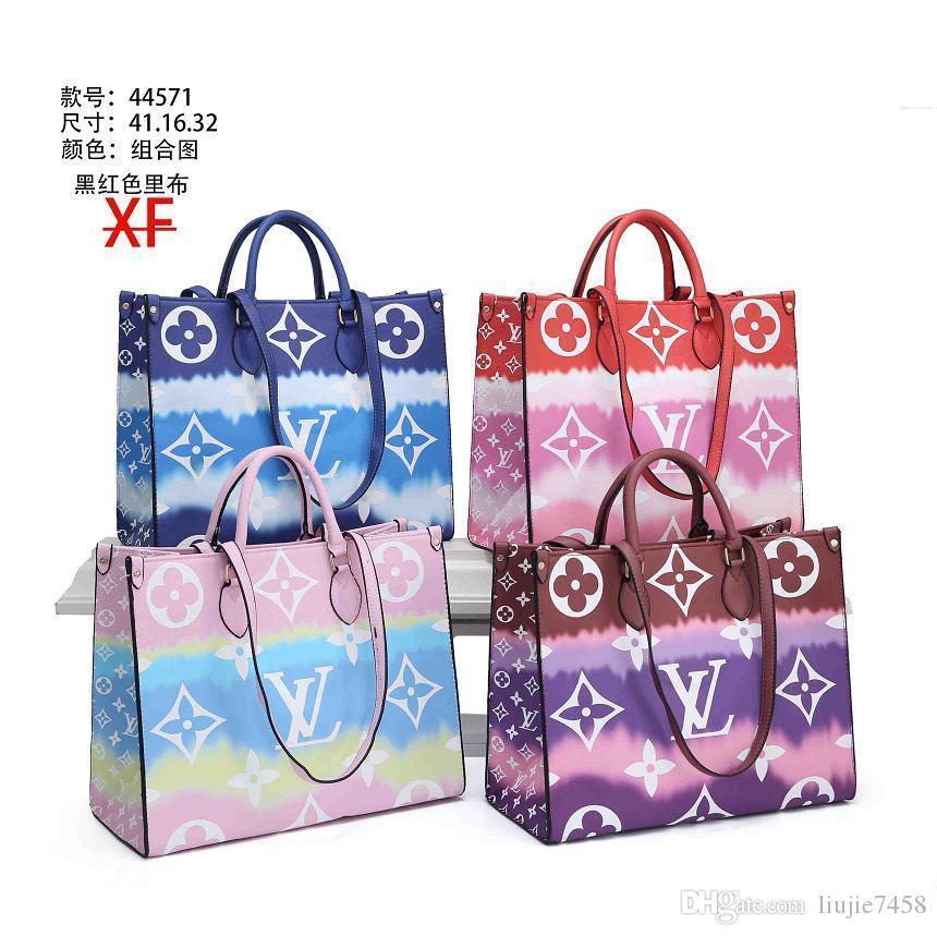 Fashino Kadınlar Çanta Çanta Çiçek Bayanlar Casual Bez Çantalar Omuz Çantaları Bayan Çanta Cüzdanlar Büyük Çanta A025CL