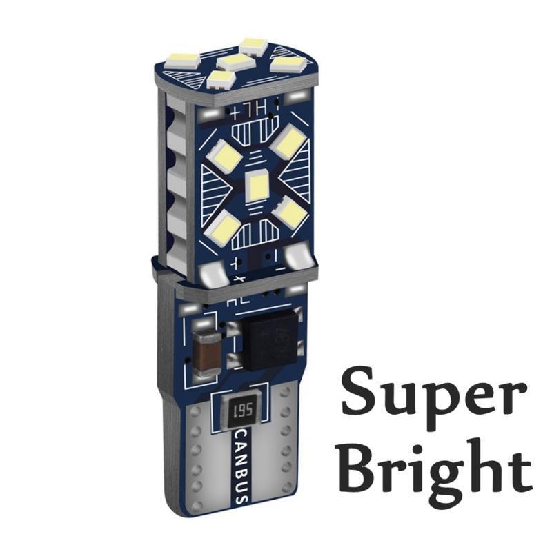 1PCS T10 W5W WY5W Супер яркий светодиодный Стоянка для автомобилей Light Marker лампы Авто Клин Canbus Ошибка Free Car Interior купола Рединг лампы