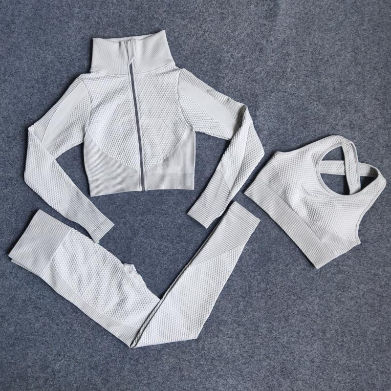 Fatos Mulheres Yoga Bra Pants Suit Academia Esporte Yoga Set Esporte Leggings corredor da ginástica Workout roupa Treino X