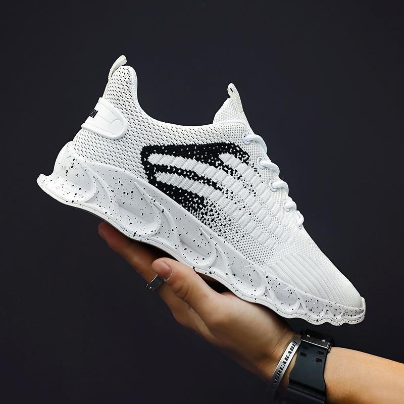 2020 وسادة تنفس صيف جديد MenSneakers الهواء أحذية خفيفة الوزن للتنفس أحذية رياضية الأزياء والأحذية زوجين الرياضة أحذية الرجال عارضة