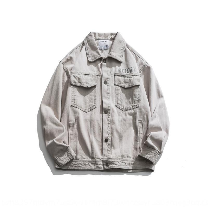 Ar5SV khNPu FORN3 20 Automne Nouveau manteau mode mode jeunesse marque neutre campus hommes denim neutre veste pour veste