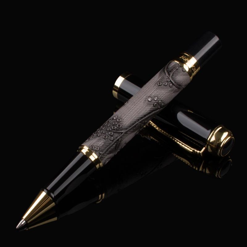 فاخر الرجعية التنين الرول قلم حبر جاف مدرسة عالية الجودة مكتب الأعمال المعدنية أقلام الكتابة قرطاسية هدايا Statione