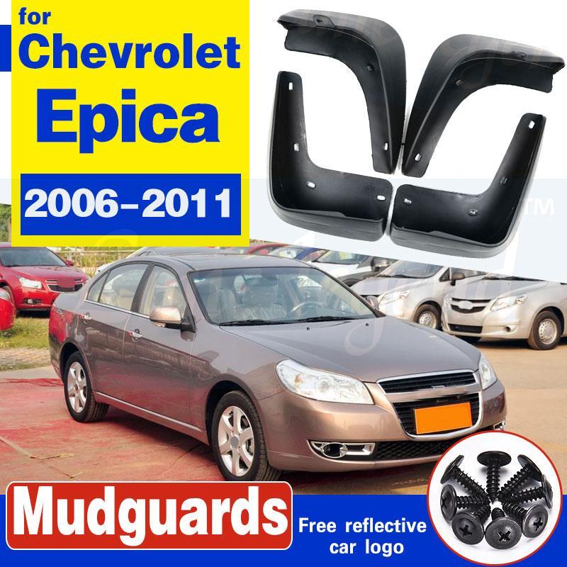 Garde-boue arrière avant voiture Fusées boue Rabats pour Chevrolet Epica Holden 2006-2011 Auto Bavettes Garde-boue Garde-boue