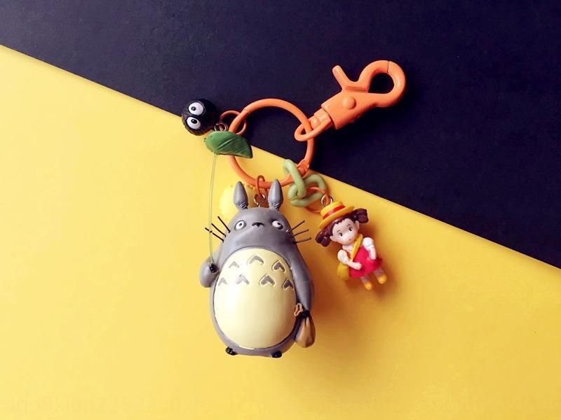 Cartoon Cartoon Schlüsselanhänger Anhänger niedlichen Auto Schlüsselanhänger Katze hängenden Beutel Goldfisch Ji Qiqi Zongjie Yangtian Ji