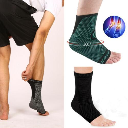 1 шт дышащий нейлон Упругие поддержки лодыжки ног Рукав эластичный дышащий Guard для деформационных усталости Спортивные носки
